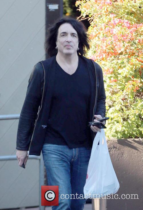 Kiss frontman Paul Stanley exits the Beverly Glen...
