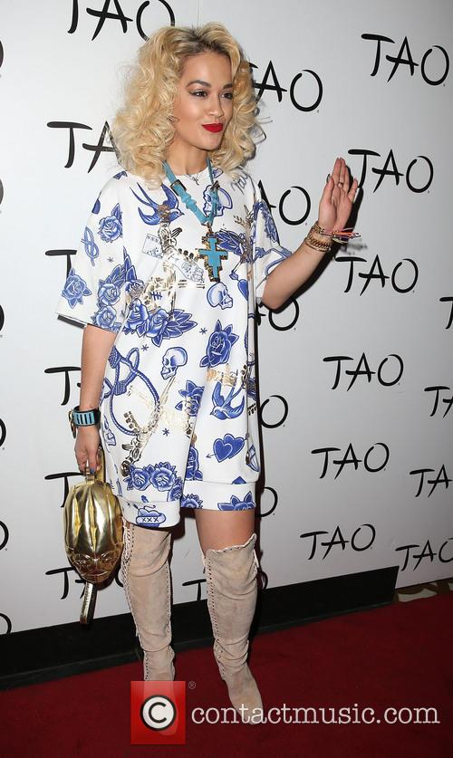 Rita Ora hosts a night at TAO Nightclub