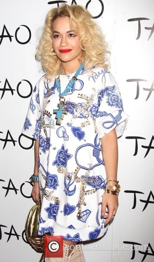 Rita Ora hosts at TAO