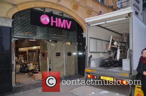 HMV In Piccadilly