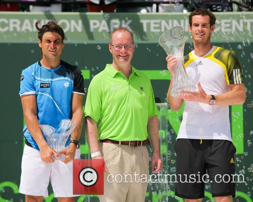 David Ferrer and Andy Murray 2