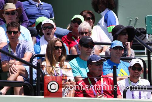 Sony, Kim Sears, Ivan Lendl and Judy Murray 3