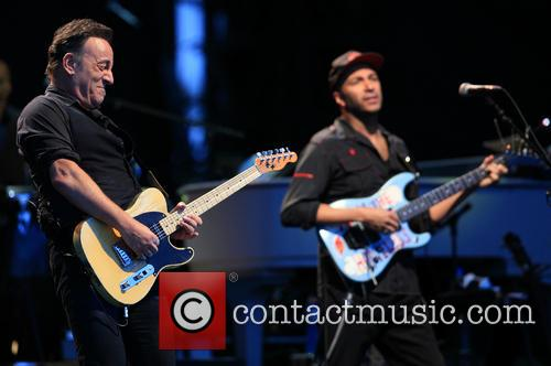 Bruce Springsteen and Tom Morello 11