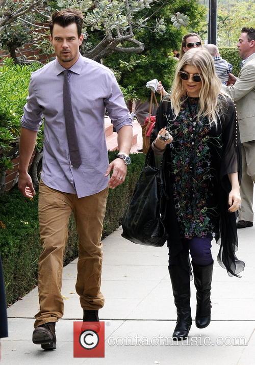Fergie And Josh Duhamel Easter
