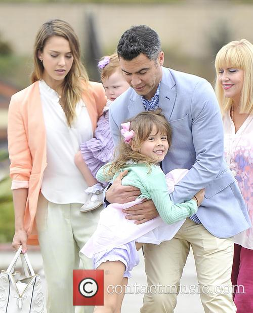 Jessica Alba, Haven Warren, Honor Warren and Cash Warren 2