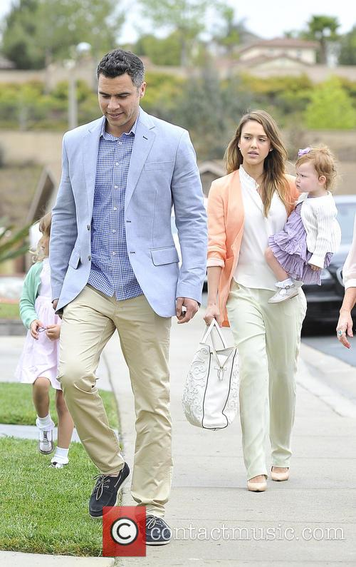 Jessica Alba, Haven Warren, Honor Warren and Cash Warren 10