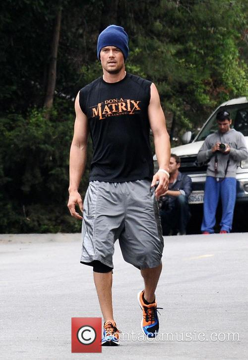 josh duhamel josh duhamel working out 3582968