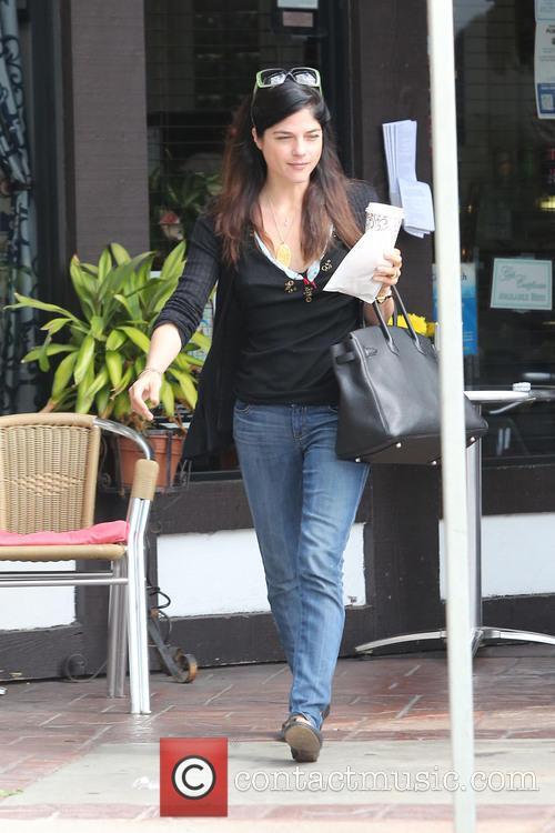 Selma Blair is seen on a coffee run in Studio City