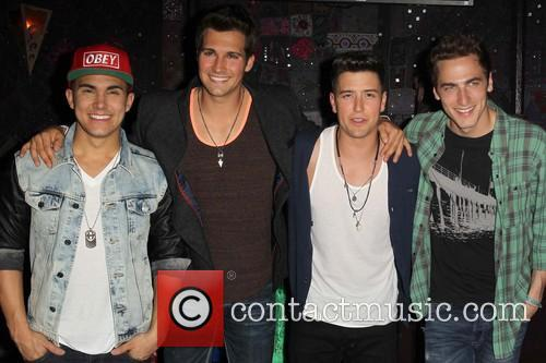 Carlos Pena, Jr, Logan Henderson, James Maslow and Kendall Schmidt Of Big Time Rush 6