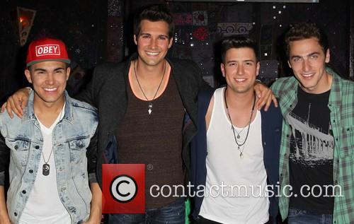 Carlos Pena, Jr, Logan Henderson, James Maslow and Kendall Schmidt Of Big Time Rush 7