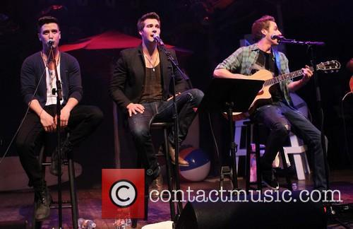Logan Henderson, James Maslow, Kendall Schmidt and Of Big Time Rush 2