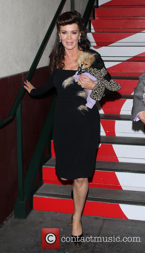 Lisa Vanderpump and Dog Giggy 2