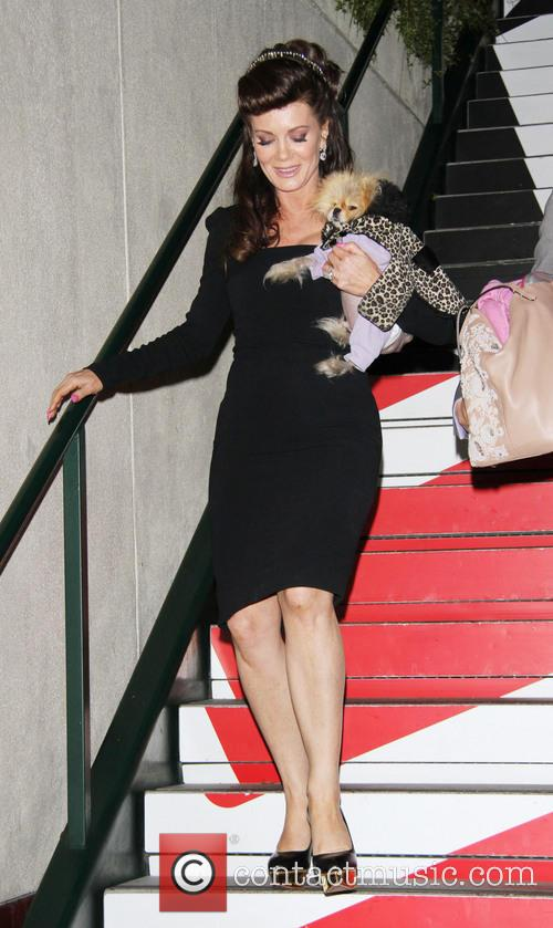 Lisa Vanderpump and Dog Giggy 3