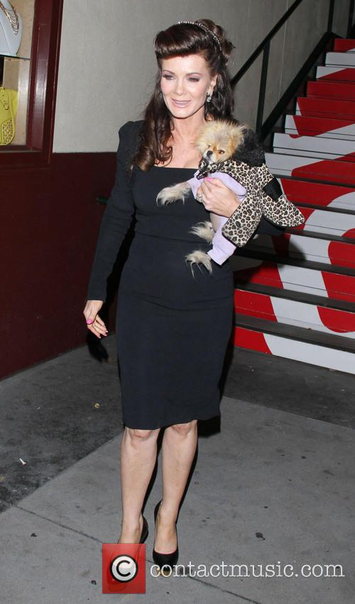 Lisa Vanderpump and Dog Giggy 4