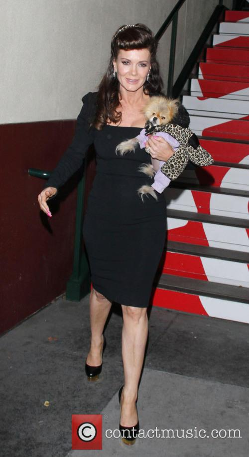 Lisa Vanderpump and Dog Giggy 1