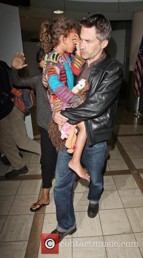 Olivier Martinez and Nahla Aubry 2