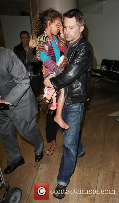 Olivier Martinez and Nahla Aubry 5