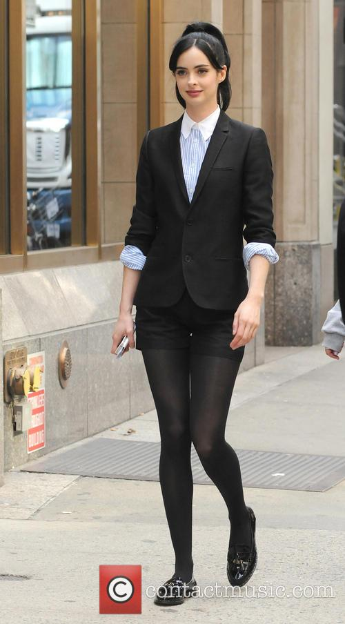 Krysten Ritter On The Set Of 'Assistance'