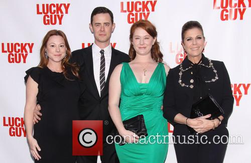 Samantha Bryant, Colin Hanks, Elizabeth Ann Hanks and Rita Wilson