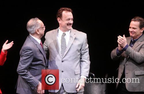 George C. Wolfe, Tom Hanks and Peter Scolari 3