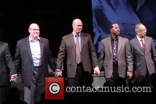 Richard Masur, Michael Gaston, Courtney B. Vance and George C. Wolfe 4