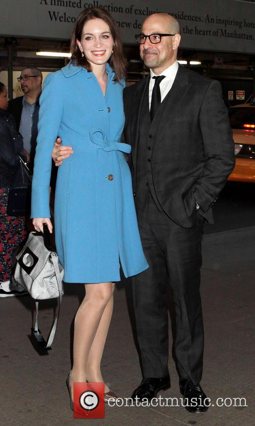 Felicity Blunt and Stanley Tucci 1