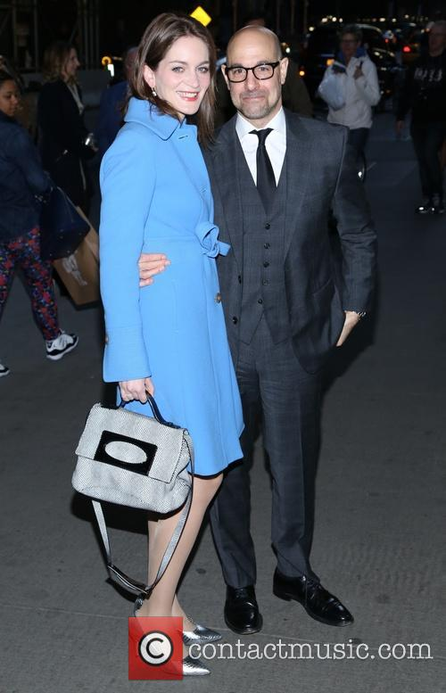 Stanley Tucci and Felicity Blunt 3