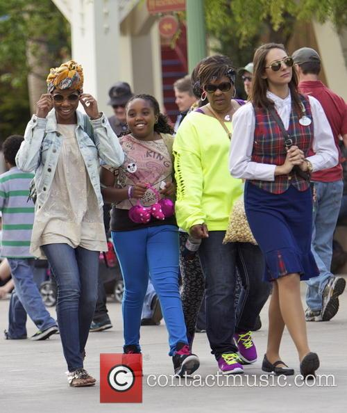 Brandy Norwood and Daughter 7