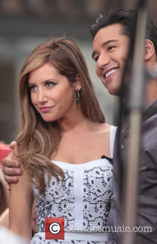 Ashley Tisdale and Mario Lopez 2