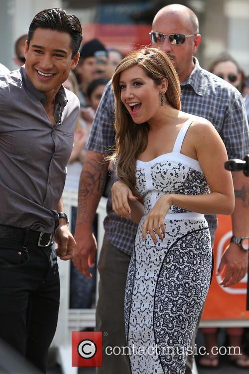 Ashley Tisdale and Mario Lopez 3
