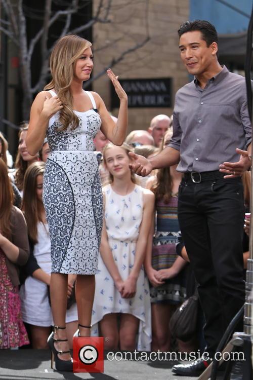 Ashley Tisdale and Mario Lopez 5