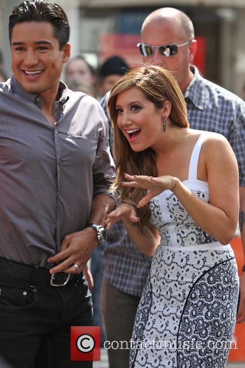 Ashley Tisdale and Mario Lopez 6