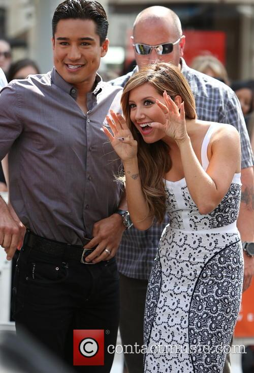 Ashley Tisdale and Mario Lopez 7