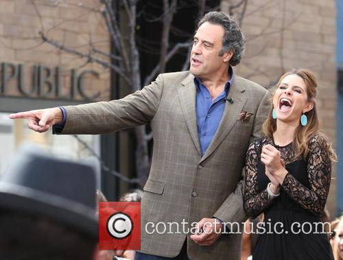 Brad Garrett and Maria Menounos 2