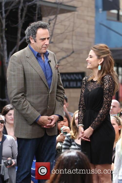 Brad Garrett and Maria Menounos 4