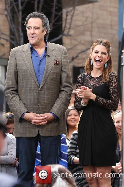 Brad Garrett and Maria Menounos 5