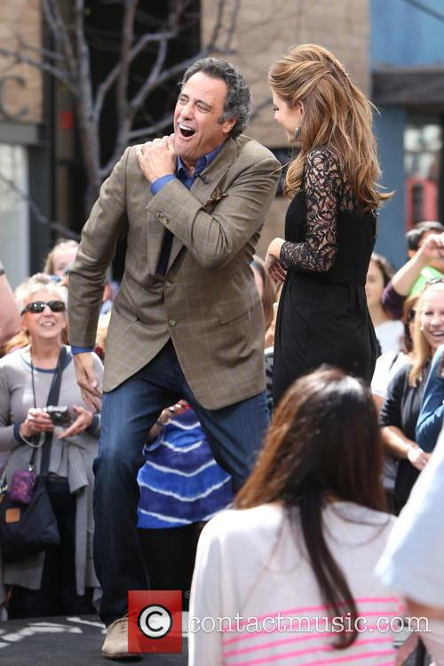 Brad Garrett and Maria Menounos 9