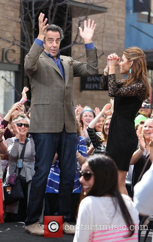 Brad Garrett and Maria Menounos 10
