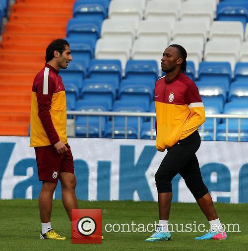 Galatasaray Football players training