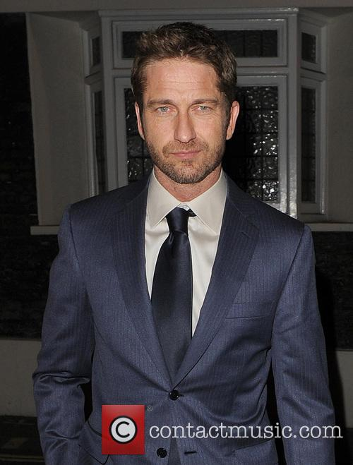 Gerard Butler at Locanda Locatelli restaurant