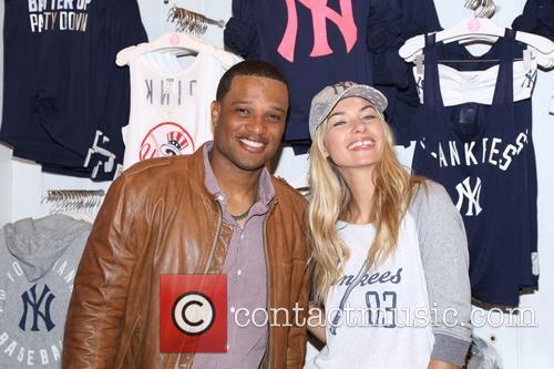 Robinson Cano and Jessica Hart 4