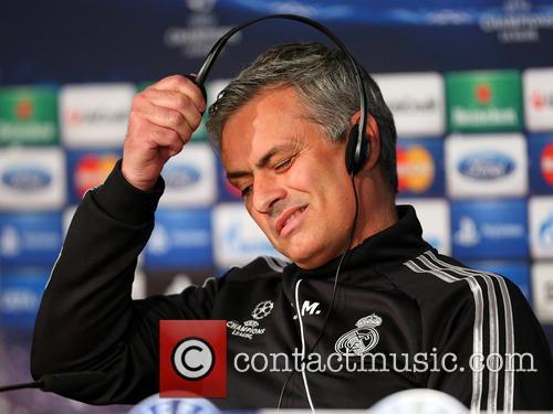 Jose Mourinho attends a press conference