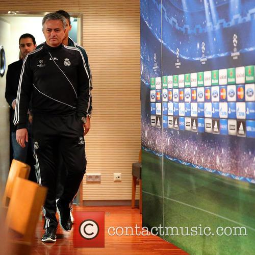Jose Mourinho attends a press conference