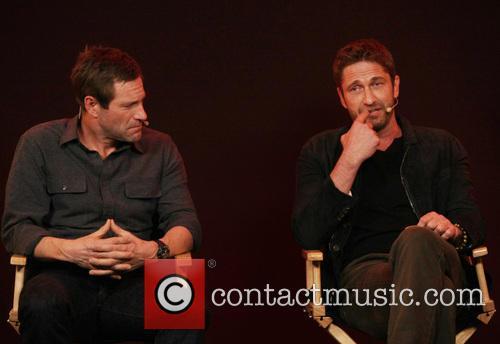Aaron Eckhart and Gerard Butler 5