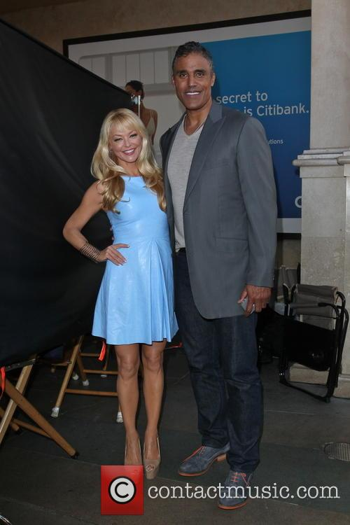 Rick Fox and Charlotte Ross 2