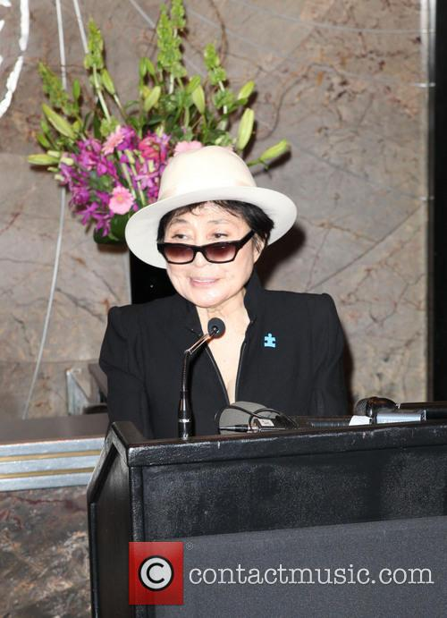 Global Autism Ambassador Yoko Ono and Autism Speaks...