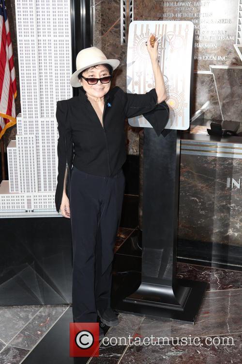 Global Autism Ambassador Yoko Ono and Autism Speaks...