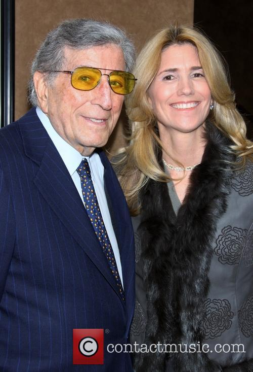 Tony Bennett and Wife Susan Benedetto 1