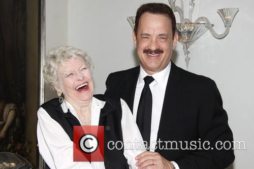 Tom Hanks and Elaine Stritch