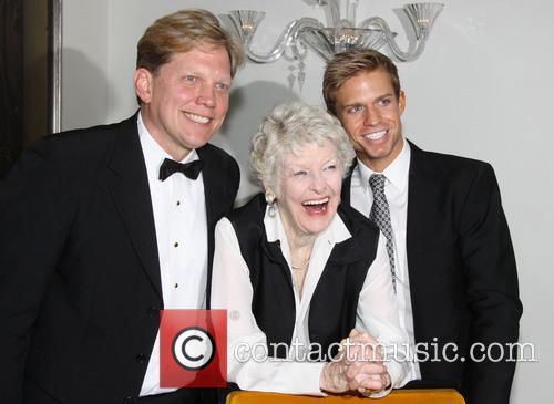 Rob Bowman, Elaine Stritch and Hunter Ryan Herdlicka 1